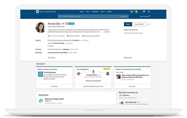 LinkedIn Sales Nav