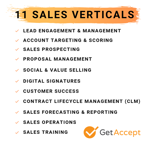 Sales verticals