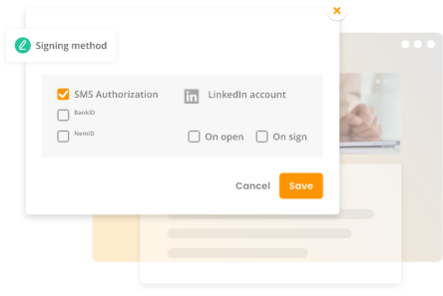 Provide a secure esigning experience