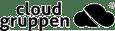 Cloudgruppen black logo