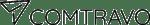 Comtravo black logo