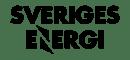 Sveriges energi black logo