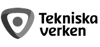 Tekniska verken black logo