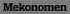 Mekonomen black logo