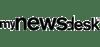 mynewsdesk black logo