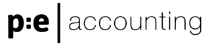 peaccounting black logo