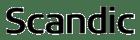Scandic black logo