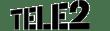 Tele2 black logo