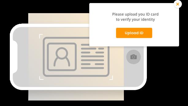 Upload ID verification