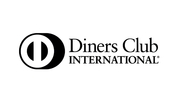 diners club logo black