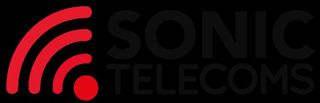Sonic telecoms logo